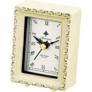 置時計 アンティーク スタイル「スクエア(アンティーク バニラ)」|touo