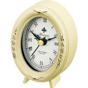 置時計 アンティーク スタイル「オーバル(アンティーク バニラ)」|touo