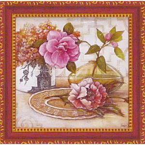 絵画 インテリア アートポスター 壁掛け (額縁 アートフレーム付き) アンジェラ スターリング「シノワ」|touo