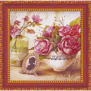 絵画 インテリア アートポスター 壁掛け (額縁 アートフレーム付き) アンジェラ スターリング「カメオ」|touo