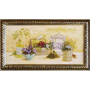 絵画 インテリア アートポスター 壁掛け (額縁 アートフレーム付き) アンジェラ スターリング「キッチン ガーデン」|touo
