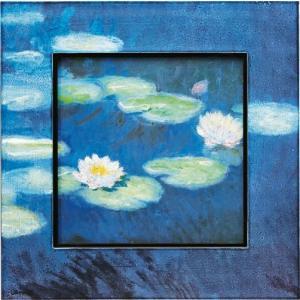 絵画 インテリア アートポスター 壁掛け (額縁 アートフレーム付き) ビッグアート モネ「睡蓮」|touo