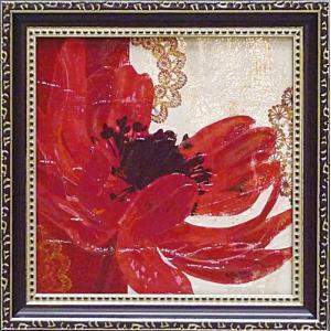 絵画 インテリア アートポスター 壁掛け (額縁 アートフレーム付き) ミニゲル アート ベラ ドス サントス「ボーホー ブルーム」|touo