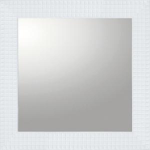 デコラティブ 大型ミラー タイル「正方形(ホワイト)」|touo