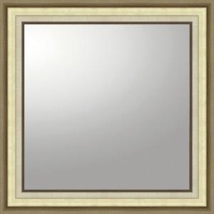 デコラティブ 大型ミラー モダン「正方形(ゴールド)」|touo