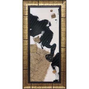 絵画 インテリア アートポスター クリス パシュケ「ギルド コラージュ オン ホワイト1」|touo