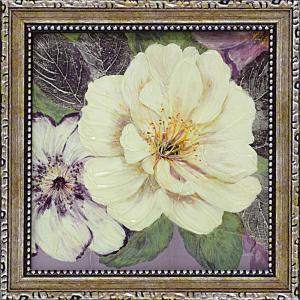 絵画 インテリア アートポスター コレン サラ「プラム アンド ラベンダー ガーデン1」|touo