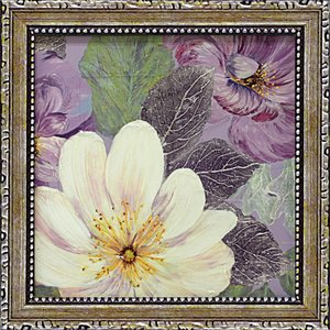 絵画 インテリア アートポスター コレン サラ「プラム アンド ラベンダー ガーデン2」|touo