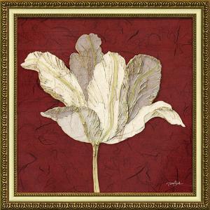 絵画 インテリア アートポスター ダイアン スティムソン「チューリップ ウィズ レッド」|touo