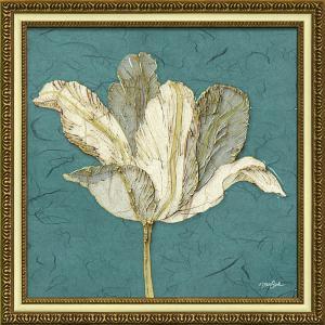 絵画 インテリア アートポスター ダイアン スティムソン「チューリップ ウィズ ターコイズ」|touo