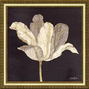 絵画 インテリア アートポスター ダイアン スティムソン「チューリップ ウィズ ブラック」|touo