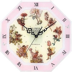 フラワー フェアリーズ 8 アングル クロック ピンク フェアリーズ|touo