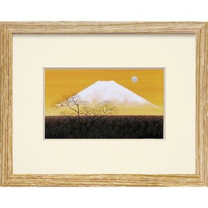 絵画 インテリア アートポスター 照沼 光治「白嶺」|touo