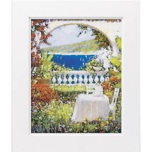 絵画 インテリア アートポスター 壁掛け (額縁 アートフレーム付き) マルコ マヴロヴィッチ作 「あなたとの思い出」|touo