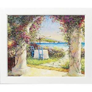 絵画 インテリア アートポスター 壁掛け (額縁 アートフレーム付き) マルコ マヴロヴィッチ作 「募る想い」|touo