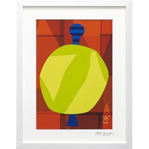 絵画 インテリア アートポスター 壁掛け (額縁 アートフレーム付き) MoMo carnival アートフレーム「ヒュー(Sサイズ)」|touo