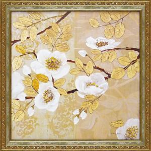 絵画 インテリア アートポスター マティーナ セオドシウ「黄金色の輝き2」 touo