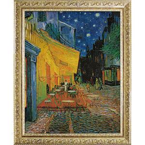 絵画 インテリア アートポスター ゴッホ「夜のカフェテラス」|touo