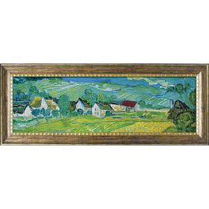 絵画 インテリア アートポスター ゴッホ「オーヴェールの美しい草原」|touo