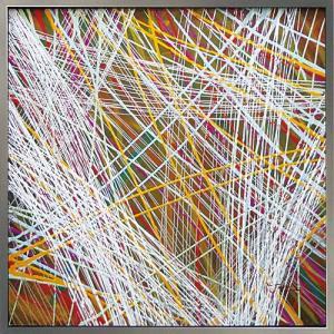 絵画 油絵 肉筆絵画 壁掛け (額縁 アートフレーム付き) オイル ペイント アート「アブストラクト5」|touo