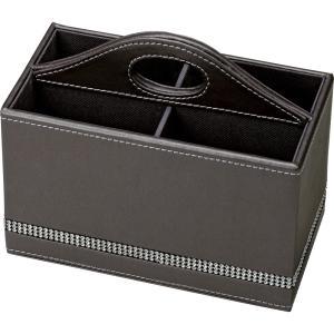 スプレンダー レザー シリーズ「リモコン ボックス(ダークグレー)」|touo
