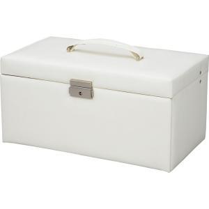 インテリア 小物入れ スウィートジュエリーボックス L Lサイズ(ホワイト)|touo