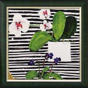 絵画 インテリア アートポスター スーザン ブラウン「ホットハウス オーキッド」|touo