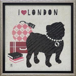 絵画 インテリア アートポスター スタジオ ムソー「ロンドン ポーチ」|touo