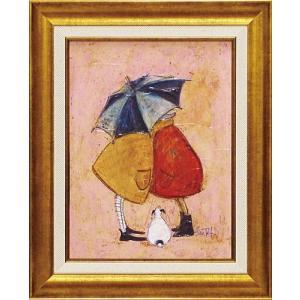 絵画 インテリア アートポスター 壁掛け (額縁 アートフレーム付き) サム トフト「ス二ーキー」|touo