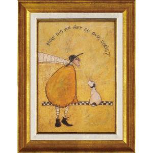 絵画 インテリア アートポスター サム トフト「ゲット オールド ドリス」|touo