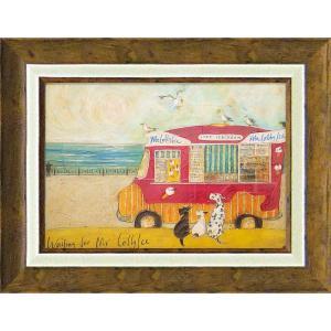 絵画 インテリア アートポスター サム トフト「アイスクリーム食べたいなぁ」|touo