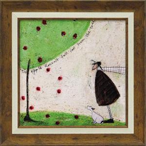 絵画 インテリア アートポスター サム トフト「リンゴは木から落っこちない」|touo