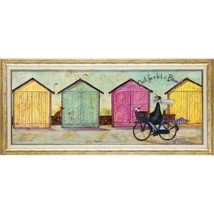 絵画 インテリア アートポスター サム トフト「ちょいとブランチに」|touo
