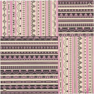 ノディック アート ボード「アンティーク パターン」|touo