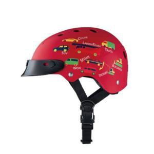 ブリヂストン コロン レッド CHCH4652 子供用ヘルメット