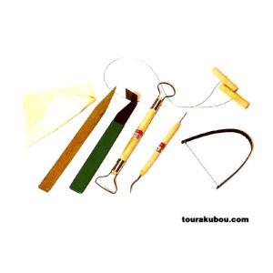【陶芸】初級者1人セット7点組|tourakubou