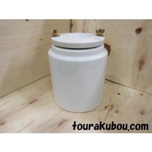 【展示品】ポットミル容器 直径18cm(磁器玉付き) 現品限り!|tourakubou