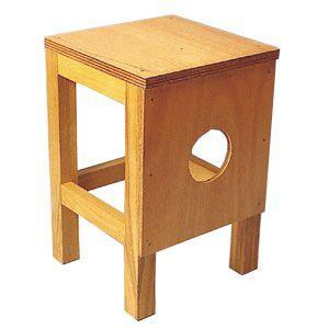 木工用角いす R型|tourakubou