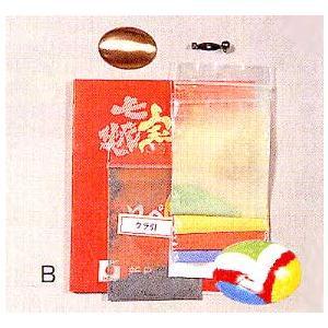 七宝素材・絵の具セット『ブローチセットB小判形』 tourakubou
