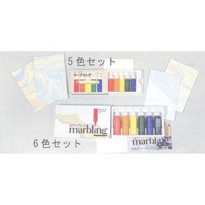 彩液マーブリング.6色セット.12ml|tourakubou