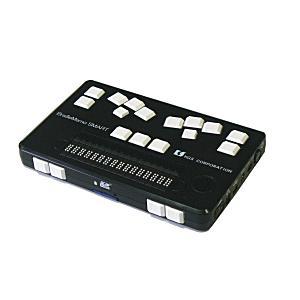 【送料サービス】メモ機能付点字ディスプレイ ブレイルメモスマート16 BMS16|tourakubou