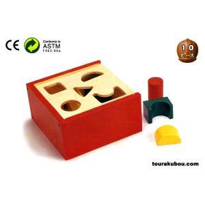 木の知育玩具『ブロックパズルA』|tourakubou