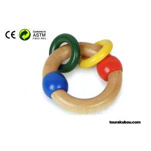 木の知育玩具『木製ガラガラA』|tourakubou