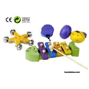 木の知育玩具『リズム遊び』|tourakubou