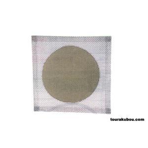 セラミック付金網 150mm角|tourakubou