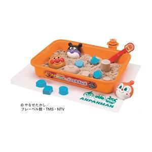 色々な遊び方を試してみよう!  ●内容/容器、ふた、サンドナイフ、丸筒押し出し器、プレイシート、砂型...