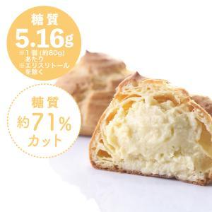 糖質制限 シュークリーム(3個入)[冷凍]|toushitsuseigen-com