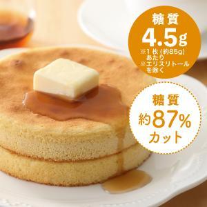 糖質制限 パンケーキ(2枚入メープル風味シロップ1包付き)[冷凍]|toushitsuseigen-com