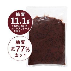 【数量限定】低カロリー 粒あん 2kg[冷蔵] toushitsuseigen-com