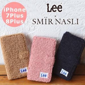 サミールナスリ iphoneケース Lee SMIRNASLI iPhone7plus/8plus 手帳型 SMIR NASLI コラボ ボア モバイル スマホケース 011100032 iPhone7プラス iPhone8プラス|touzaiyamakaban